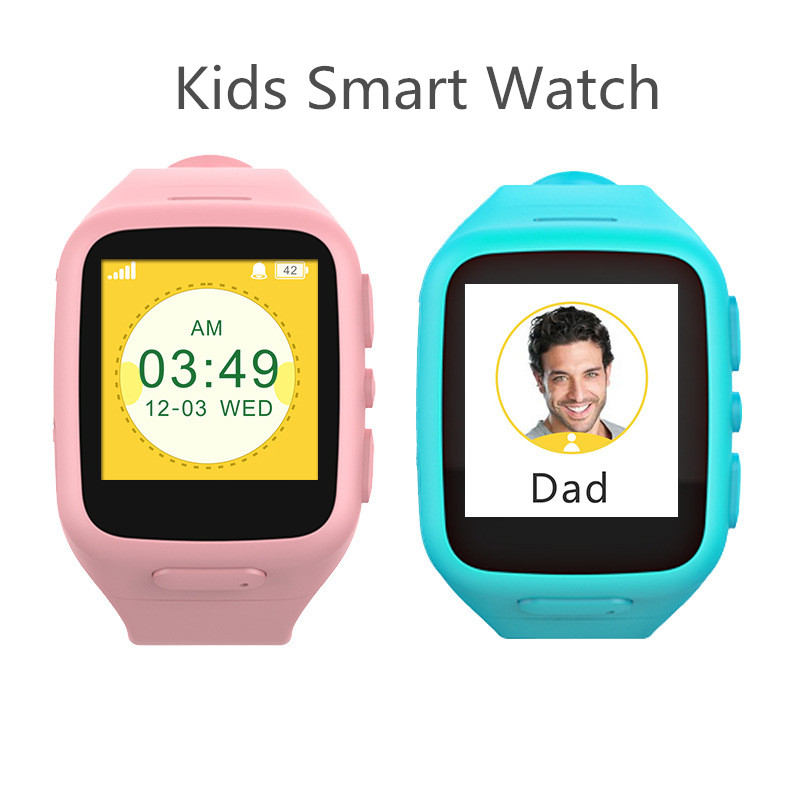 Kid Safe Baby Son Wristwatch Smart Watch Locator SOS Calling Touch Screen Android Smart Watch Sycn Smart Phone for Childen Baby smart baby watch каркам q60 голубые