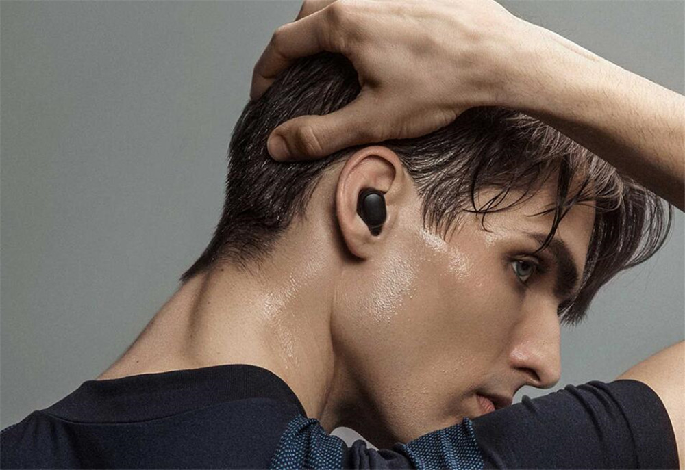 100% Original Xiaomi Redmi Airdots TWS Bluetooth 5.0 Earphone  Wireless Active Noise Cancellation With Mic Handsfree AI Control