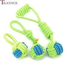 Транспортировочный питомец, собачьи игрушки, жевательная игрушка для собак, зубы, чистые, на открытом воздухе, тренировка, забавная игра, зеленая веревка, мяч, игрушка для больших маленьких собак, кошек, 71229