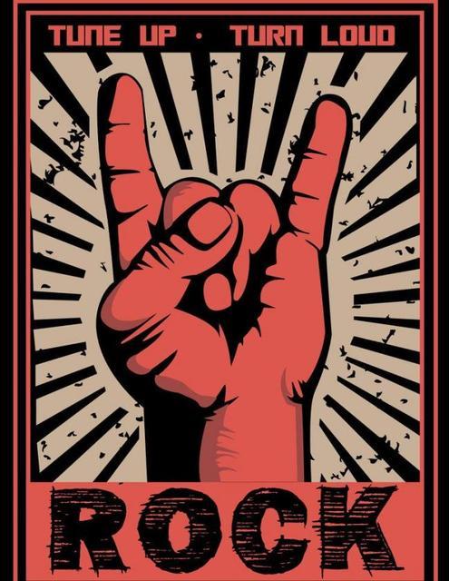 rock n roll poster diy berlian lukisan cross stitch dekorasi rumah