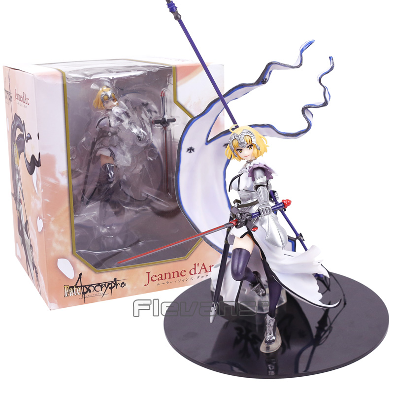 Fate stay night Fate/Apocrypha Jeanne d'Arc Ruler Alter Saber Lily PVC Figure Collectible Model Toy 32cm 2 Colors 21cm japanese anime wing fate stay night saber last episode action figure toy pvc collectible model doll toys
