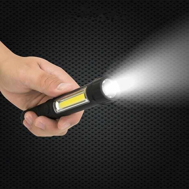 Супер яркий фонарь 3 Вт полицейский светодиодный вспышка лампа с зажимом