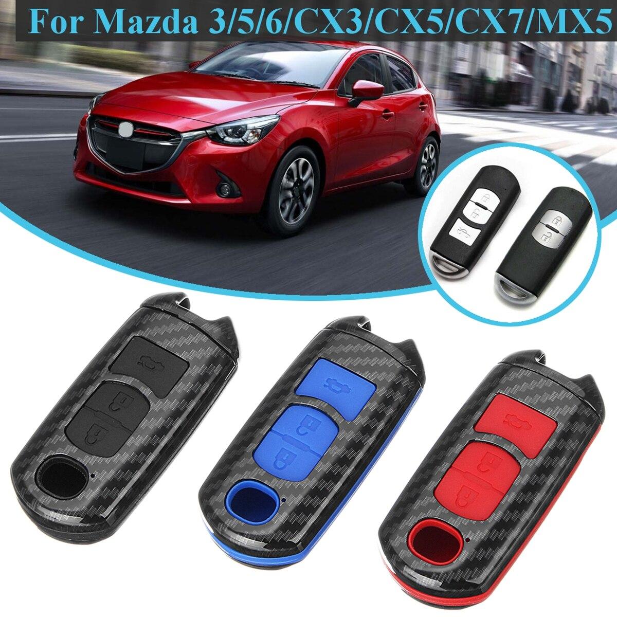 MAZDASPEED Carbon Fiber License Plate Frame Mazda 2 3 5 6 RX7 RX8 Miata MX5 CX9