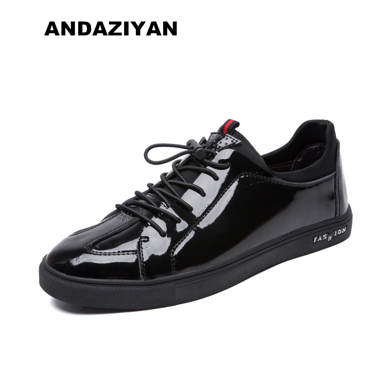 Liso Sapatos Preto Estilo Britânico De Masculinos Couro branco CwUPqt