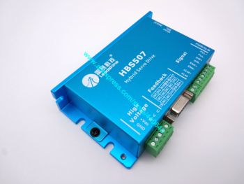Leadshine HBS507 equal to ES-D508 updated from HBS57 Easy Servo Drive Maximum 20-50 VDC Input Voltage, and 8.0A   Current
