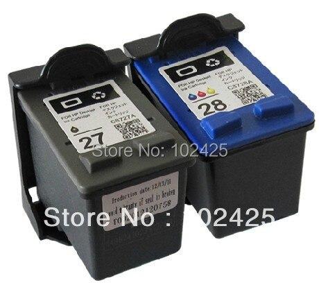 For HP 27 28 Ink Cartridge HP27 28 for HP Deskjet 450 450CI 5550 3420 3520 3550 3650 3740 3745 3843 3845 Printer