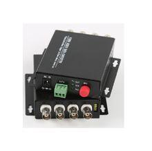 4ch цифровой видео оптический конвертер оптоволоконный передатчик