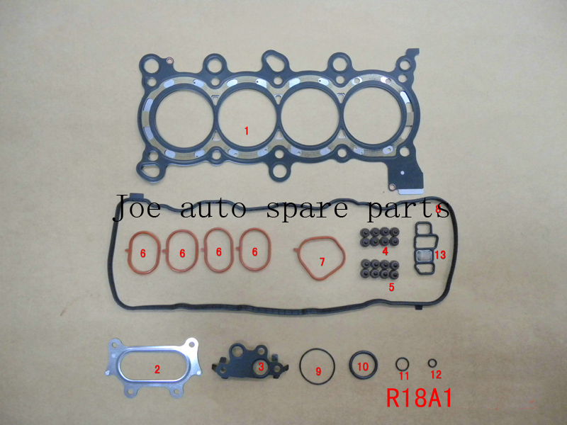 R16A1 R18A1 R18A2 R20A1 R20A3 Moteur Complet Joint Ensemble kit pour Honda EDIX (FN FK) /CIVIC (FD)/ACCORD (CU) 1.6 1.8 2.0 04-08 52256700