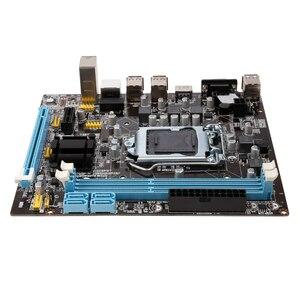 Image 4 - Оригинальная материнская плата VEINEDA, разъем LGA 1155 для настольного ПК с процессором Intel Core i3 i5 i7 DDR3, память 16 ГБ, материнская плата uATX H61 для ПК