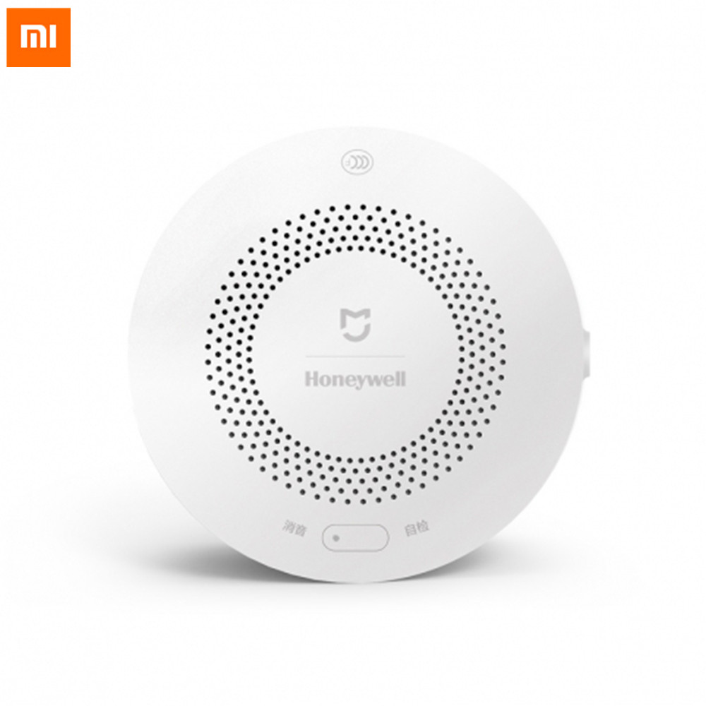 Original Xiaomi Mijia Honeywell Smart Gas Alarm CH4 Monitoring Natural Gas Alarm Detector Mihome APP Remote Linkage With Gateway