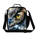 Dispalang Fashion Kids Lunch Bags 3D Animal Printing Lunch Box For Students Owl Lunchbox Children Picnic Food Bags