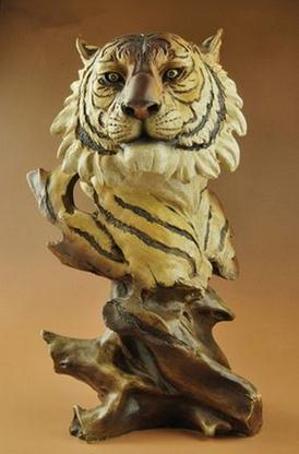Tiger furnishing articles handicraft restoring ancient ways Creative home office decorations