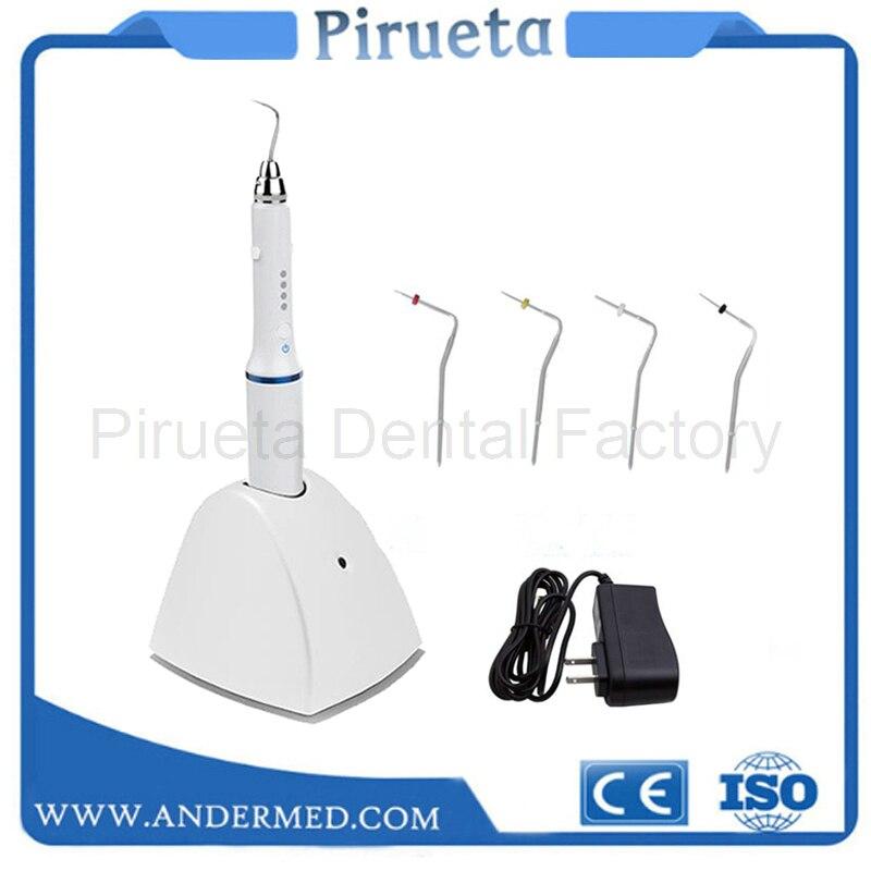 歯科充電ホットメルト充填システム歯科コードレスおしゃぶりガッタパーチャ閉塞システム遠藤加熱されたペンと 4 ヒント  グループ上の 美容 & 健康 からの 歯のホワイトニング の中 1