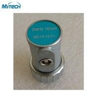 2 MHz 10mm Düz Işın Probu Dönüştürücü Ultrasonik Kusur Ölçer