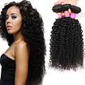 Malaysian Afro Kinky Curly Virgin Hair 3 Bundles Malaysian Kinky Curly Hair Alibaba-Malaysia Cheap Human Hair Bundles Rosa Hair