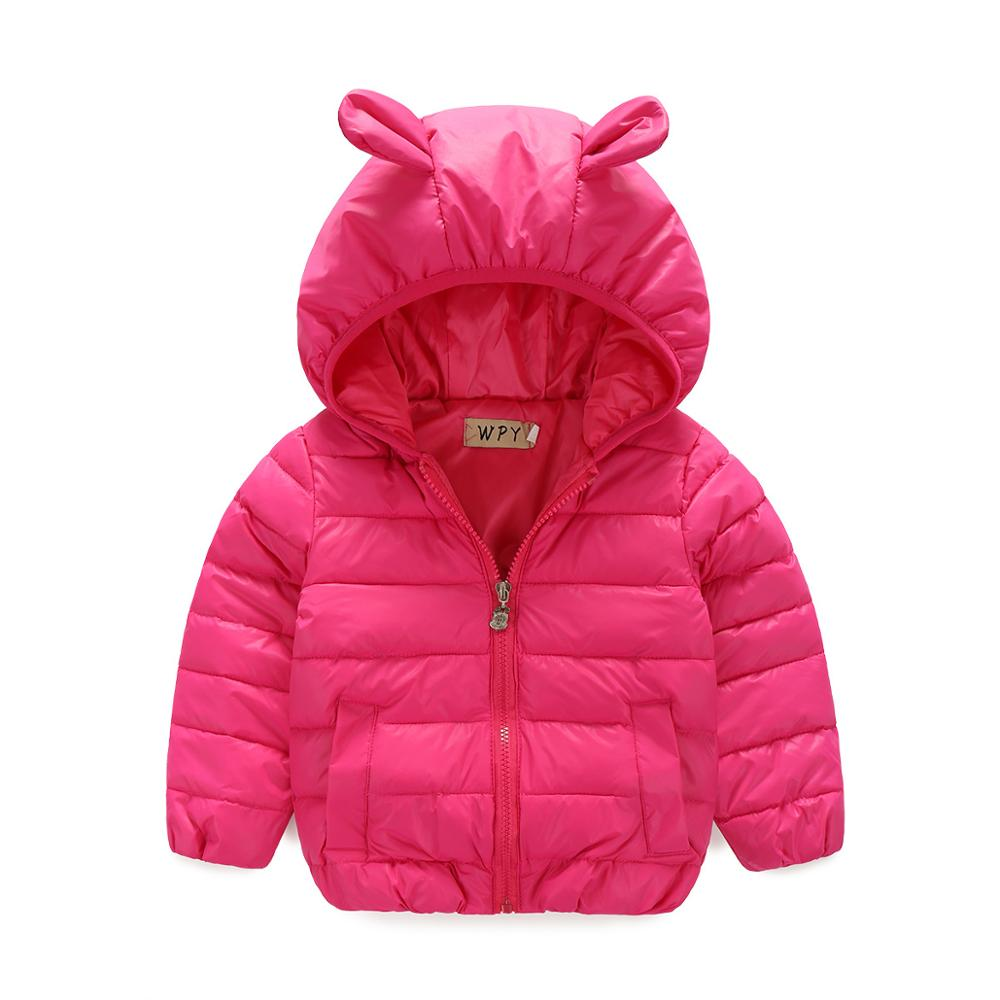 European Style New 2016 winter boy or girl coat children s clothing warm trench thickening kids