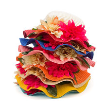 SPECIAL OFFER! Multicolored Floral Beach Hat