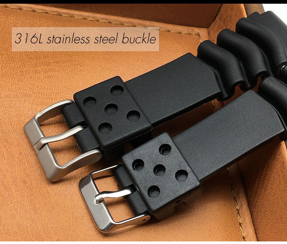 9b34be85d03 Comprar ahora. 18 19 MM 20 21 Peças de 22mm faixa de Relógio T41 de strip  masculino omega de aço Inoxidável sólido para Tissot pulseira Seiko ...