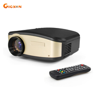 Gigxon C6 Mini WiFi Projector 1200 Lumens Support 720P 1080P Home Theater Projector For Small Meeting