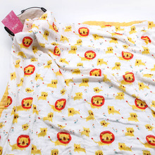 Cute Summer Breathable Cotton Swaddle Blanket