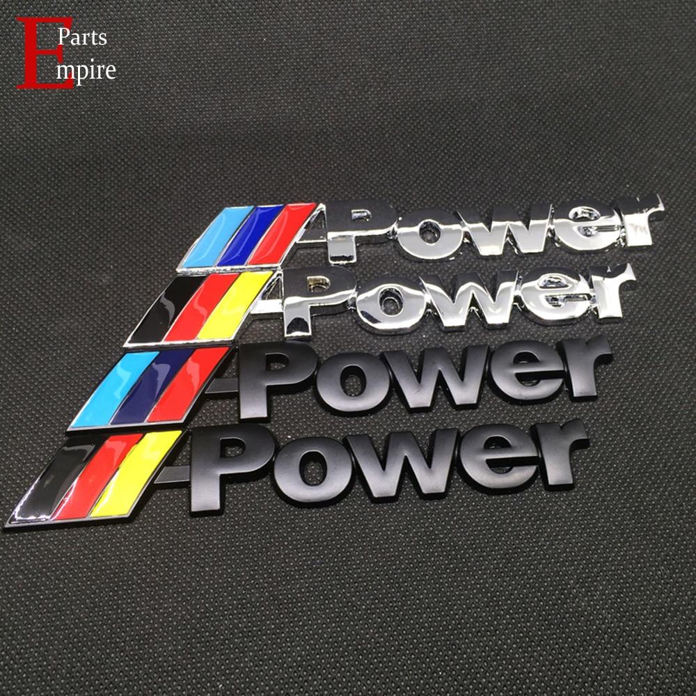 4x BMW M Tec Badge Alloy Wheel stickers M Sport 16mm x 9mm