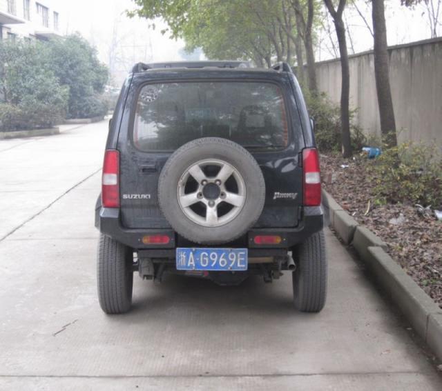 """Galinio buferio glaustas """"Suzuki Jimny"""" - Automobilių dalys - Nuotrauka 3"""