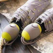 Japan order yellow five-pointed star automatic umbrella rain women, 3-fold pleagabe paraguas de mujer novelty items