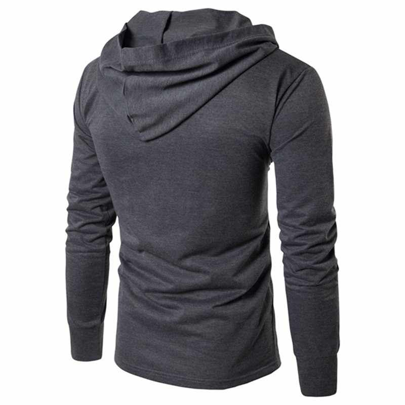 2019 新到着冬のロングジャケット綿厚い男性高品質カジュアルファッションパーカー綿のコートの男性ブランド服