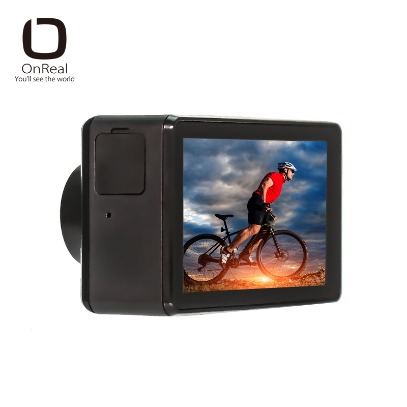 OnReal Action Camera B1-BS Series 4K@24fps 7G 170 Degree 2.45