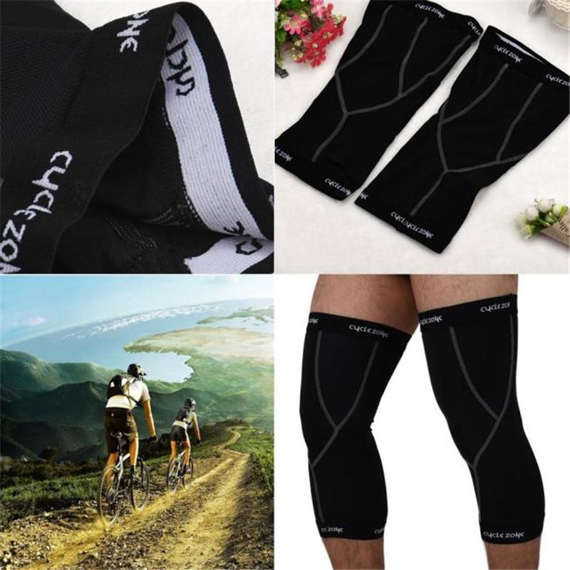 High Quality Sports & Outdoor Leg Sunscreen UV Protection Guard Knee Sleeve Bike Bicycle Cycling Ride Black Equipment M-XXL M10