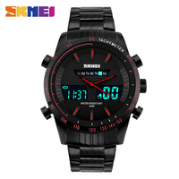 SKMEI   Digital     Watch   Man Military Army Role LED Analog Outdoor Men's Sport   Watch   Top Brand Fashion Steel Relogio Masculino 1131