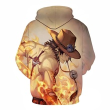 One Piece  3D Print Hoodies