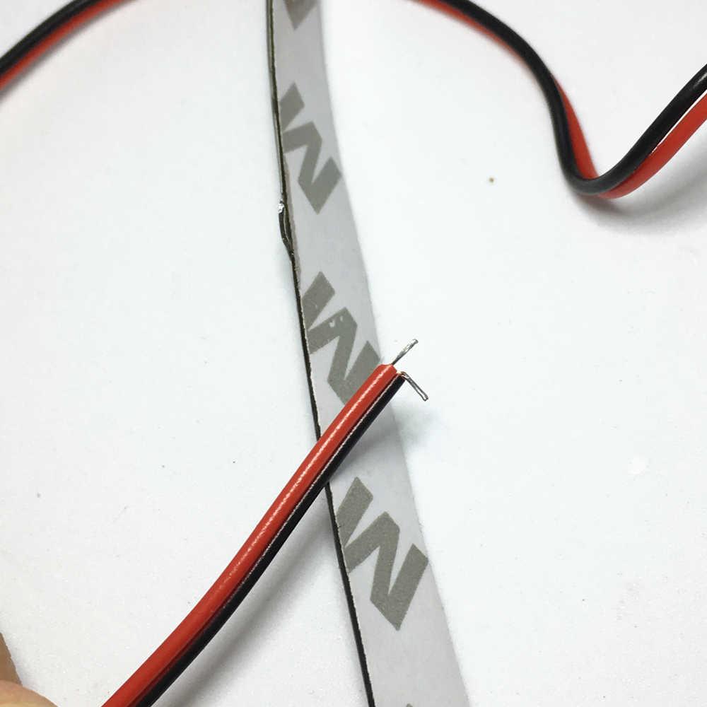 30 เซนติเมตร Strip Light รถยืดหยุ่น LED Strip Light 15SMD กันน้ำ LED Daytime Running Light ตกแต่งรถ DRL High Power 12 โวลต์