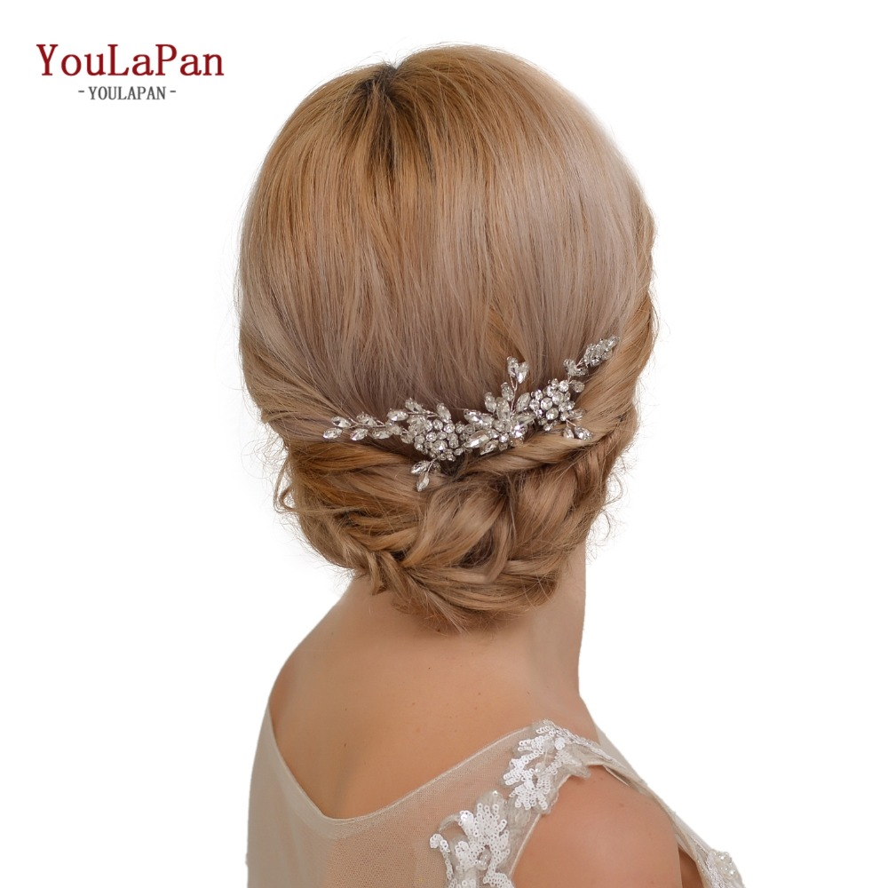 YouLaPan HP77 Bridal Tiara Bridal Combs Handmade Bridal Wedding Hair Accessories Wedding Hair Jewelry Wedding Hair Comb