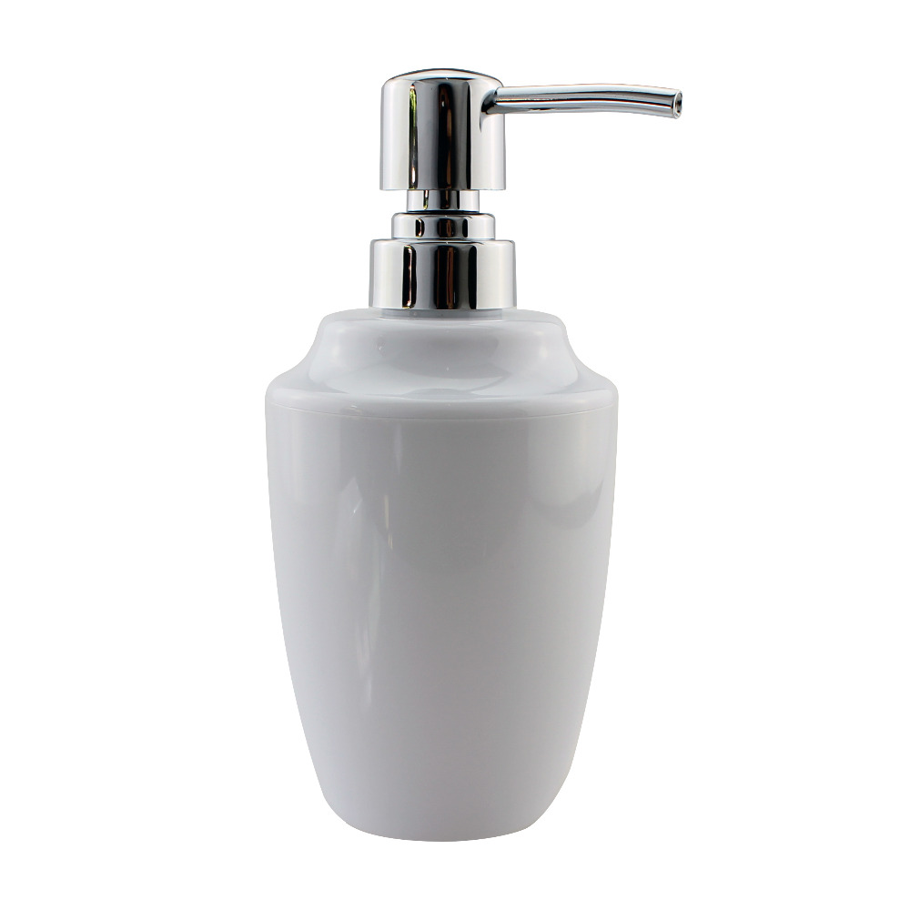 Acrylic soap lotion liquid dispenser pump countertops for Liquid soap dispenser for bathroom