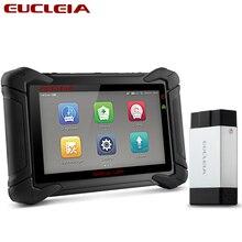 EUCLEIA S8M OBD2 profesjonalnego pełny układ skaner samochodowy ABS EPB Immo PK MS906 MS908 X431 V X431 Pro narzędzie diagnostyczne obdii