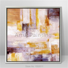 Modern abstract Colour Oil Painting Hand painted canvas  the sitting room Decorative artwork 1