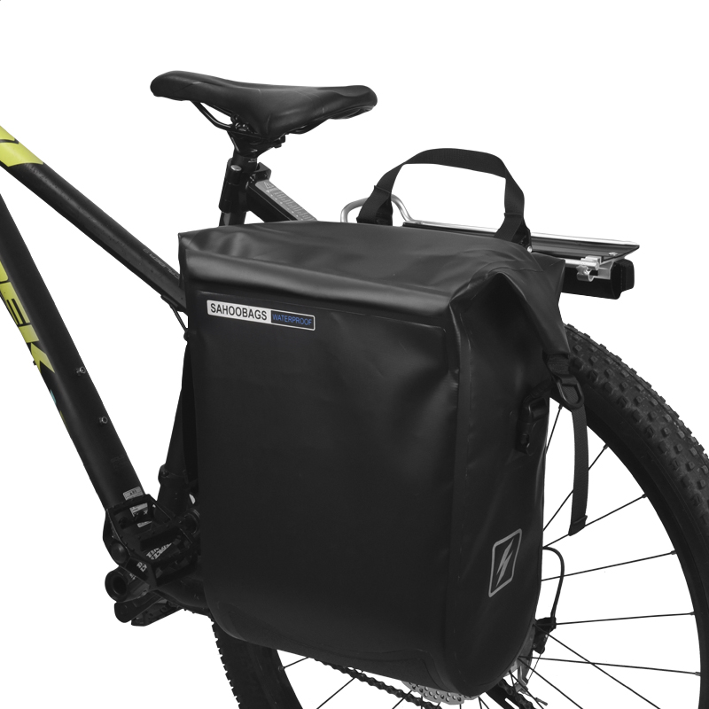 Excellent Sahoo 141364-SA 20L Full Waterproof Dry Mountain Road Bike Bicycle Cycling Pannier Bag Back Rear Seat Trunk Bag Rack Pack 3