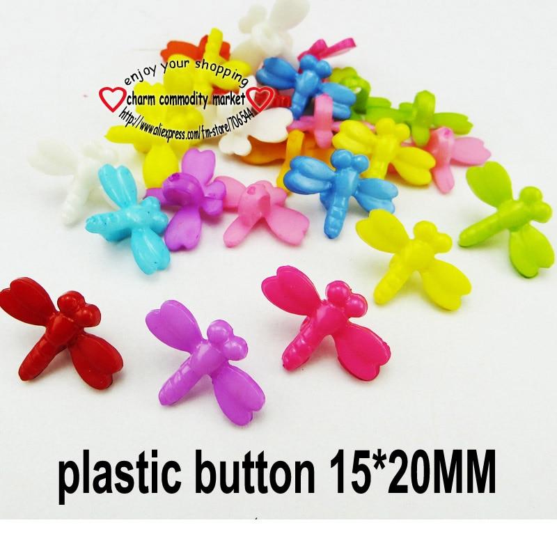 АКЦИЯ 100 шт смешанные формы много цветов Сделай Сам Скрапбукинг Мультяшные кнопки пластиковые кнопки детская одежда швейные принадлежности P-001 - Цвет: 6