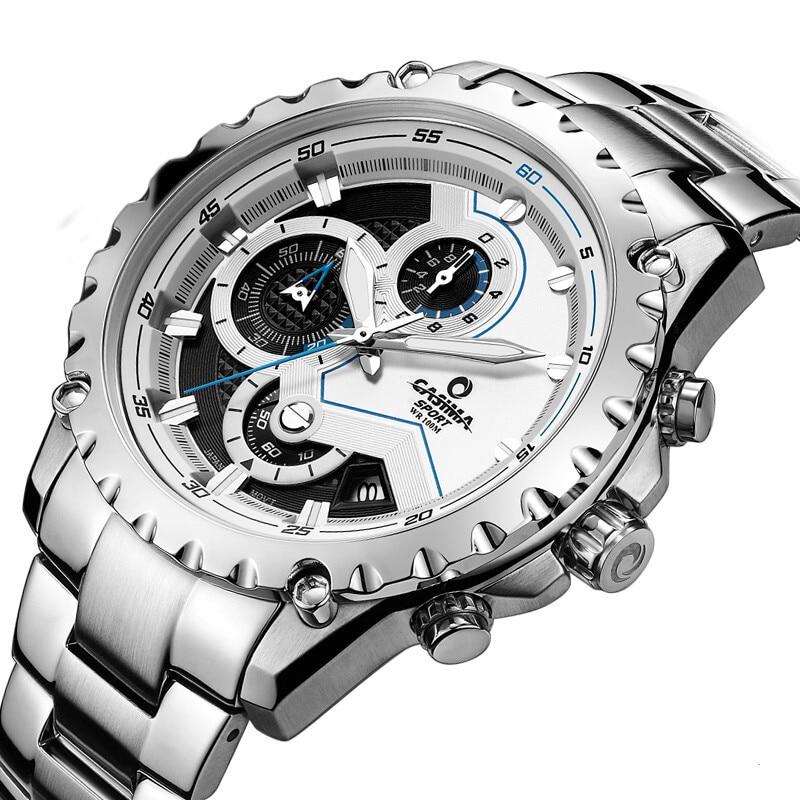 Marca de lujo Sport Men Relojes Moda Charm Mens Movimiento de cuarzo - Relojes para hombres - foto 2
