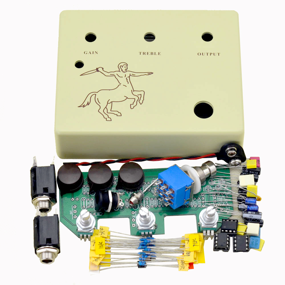 klon Centaure Overdrive pedal All kit Professional  Effect Pedal  true bypass  guitar Parts & Accessories diy klon overdrive pedal professional overdrive clone guitar effect pedal true bypass cr