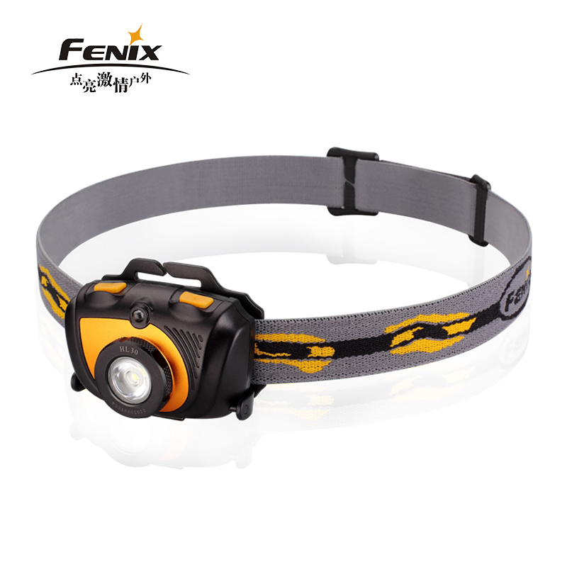 2015 New Fenix HL30 Cree XP-G2( R5) LED max 230 lumens 2AA headlamp with strap and Spare o-ring цена