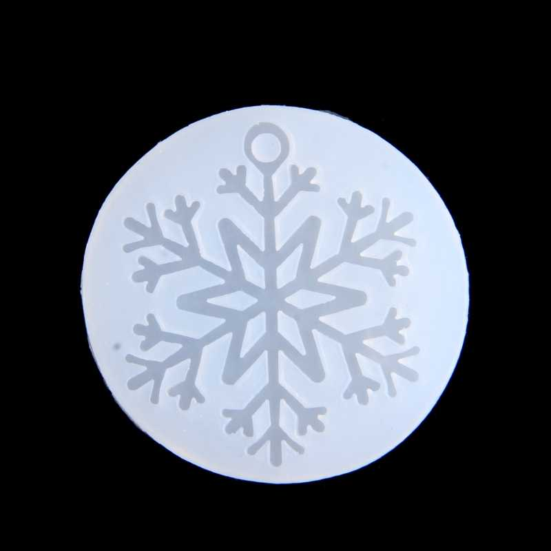 Snowflake Silicone Mold DIY Pendant Jewelry Resin Casting Mould Crafts  Handmad