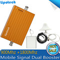 1 Conjunto de 900 Mhz GSM 1800 Mhz DCS Dual Repetidor De Sinal para Celular, celular GSM DCS Sinal De Reforço, 2g 3g 4g Amplificador de Sinal De Celular