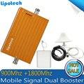 1 Unidades 900 Mhz GSM 1800 Mhz DCS Dual Repetidor de Señal de Móvil, teléfono móvil GSM DCS Amplificador de Señal, 2g 3g 4g Amplificador de Señal Móvil