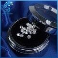20 unidades/pacote de Teste positivo 1.3mm forma redonda brilliant cut moissanites soltos stone beads para jóias fazendo preço de varejo