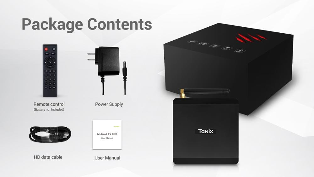 TX5 MAX DDR4 4 GB RAM 32 GB ROM 2,4G 5G WiFi 1000 M LAN Bluetooth Android 8,1 TV caja Amlogic S905X2 Quad Core 4 K HD caja inteligente - 5