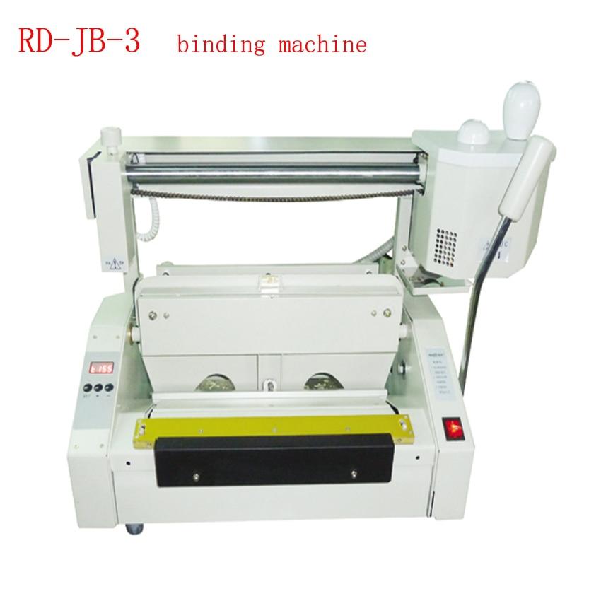 цена на JB-3 Desktop glue book binding machine glue book binder machine hot melt glue binding machine booklet maker
