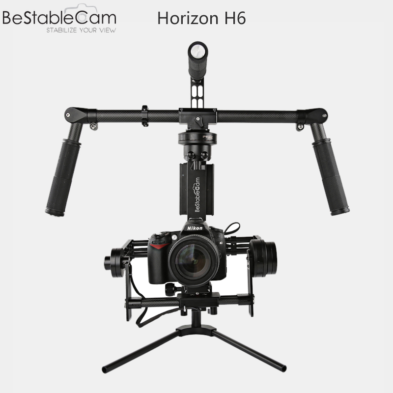 BeStableCam SteadyGim6 Plus H6 Handheld Brushless Encoder Gimbal + Gimbal Vest Support like easyrig for BMCC 5D2 A7S GH4 ronin m bestablecam h4 rtf brushless handheld encoder mirrorless digital camera gimbal gyro stabilizer for gh3 gh4 a7s nex5 bmpcc