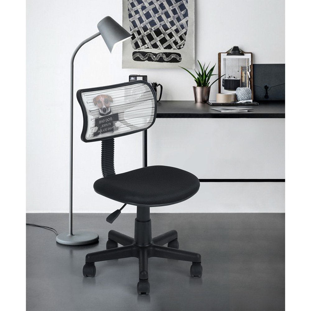 Aingoo Breathable Office Computer Chair without arms with Fabric Pads Height Adjustable 360 Degree Rotating Wheel Office Chair 240337 ergonomic chair quality pu wheel household office chair computer chair 3d thick cushion high breathable mesh